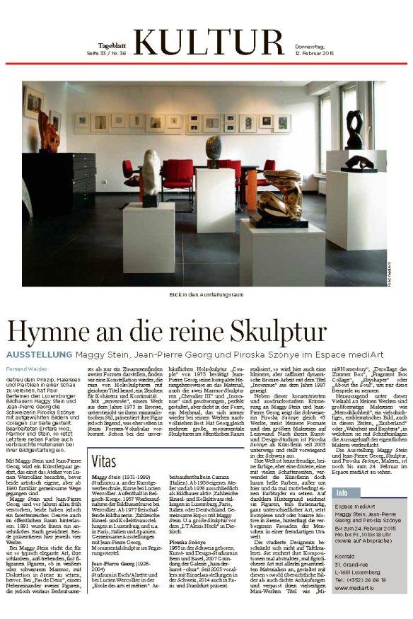 Tageblatt_E-Paper-Ausgabe_Tageblatt_Donnerstag, 12 Februar 2015